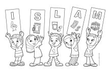 Islam Loves Peace Coloring Pages